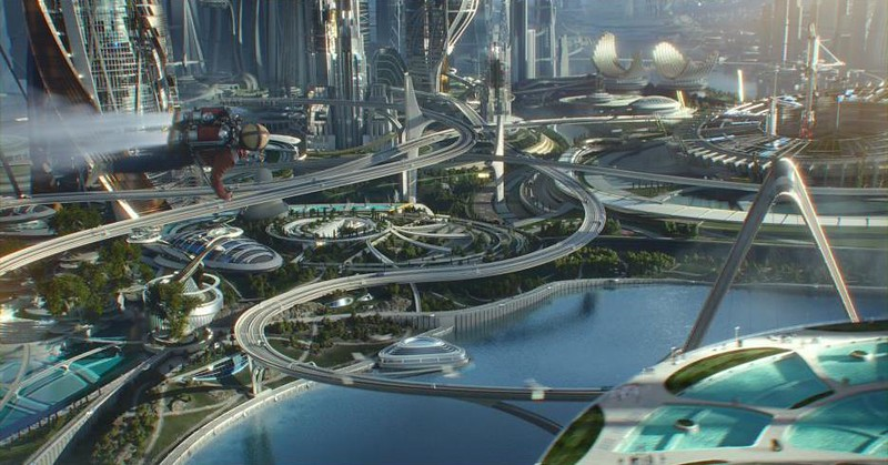 TOMORROWLAND, a great big beautiful movie review